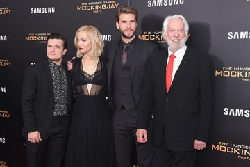 Josh Hutcherson Jennifer Lawrence 'The Hunger Games: Mockingjay- Part 2' New York Premiere