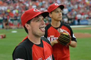 Josh Hutcherson 2015 MLB All-Star Legends And Celebrity Softball Game