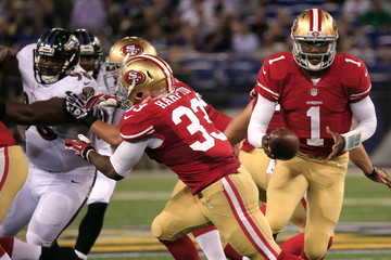 Josh Johnson San Francisco 49ers v Baltimore Ravens