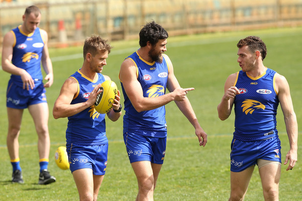West Coast Eagles Media Opportunity & Training Session