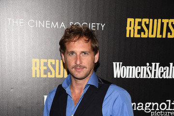 Josh Lucas The Cinema Society With Women's Health & FIJI Water Host a Screening of 'Results'