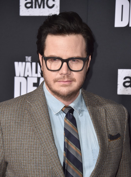 Special Screening Of AMC's 'The Walking Dead' Season 10 - Arrivals [the walking dead,season,eyewear,hair,glasses,suit,white-collar worker,hairstyle,facial hair,chin,forehead,vision care,arrivals,josh mcdermitt,hollywood,california,chinese,special screening of amc,screening]