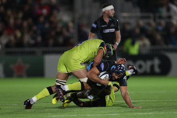 Josh Strauss Glasgow Warriors v Leicester Tigers - European Rugby Champions Cup