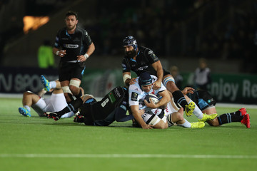 Josh Strauss Glasgow Warriors v Racing 92 - European Rugby Champions Cup