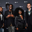 """Joshua Johnson Spotify Hosts """"Best New Artist"""" Party At The Lot Studios - Red Carpet"""