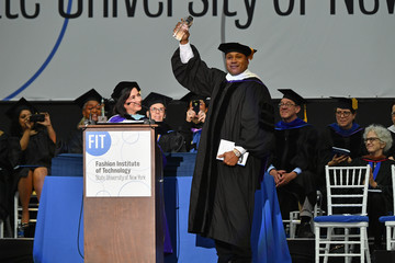 Joyce F. Brown The Fashion Institute of Technology's 2017 Commencement Ceremony