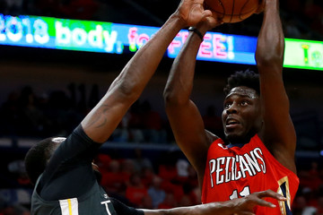 Jrue Holiday Golden State Warriors vs. New Orleans Pelicans - Game Four
