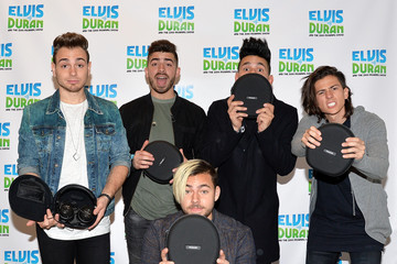 Juan LOS 5 Visits 'The Elvis Duran Z100 Morning Show'