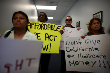Juan Gonzalez Activists Support Medicaid Expansion in Miami