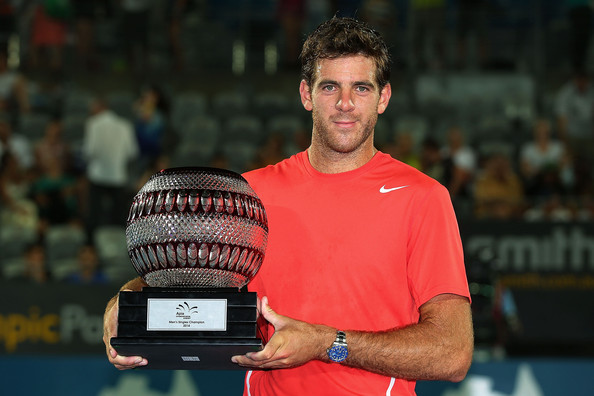 Juan Martin Del Potro - 2014 Sydney International - Day 7