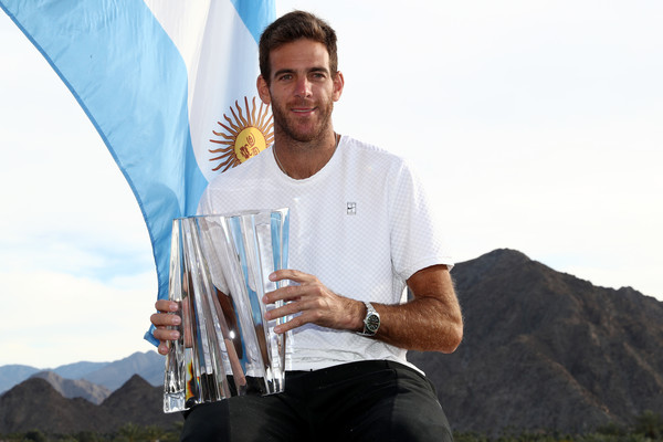 Juan Martin Del Potro Rises To Four-Year Ranking High