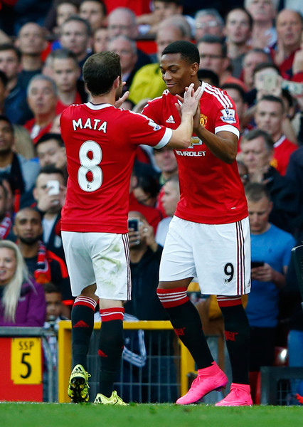 6ad2f48ef30 Juan Mata and Anthony Martial Photos»Photostream · Pictures. Manchester  United v Liverpool - Premier League