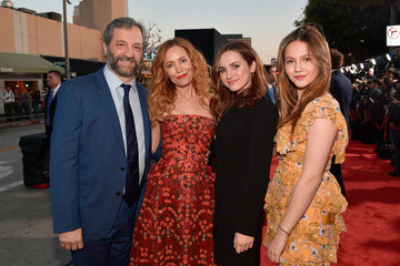 """Judd Apatow Iris Apatow Premiere Of Universal Pictures' """"Blockers"""" - Red Carpet"""