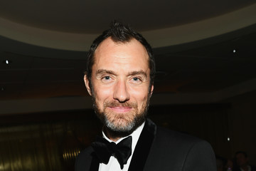 Jude Law HBO's Official Golden Globe Awards After Party - Inside