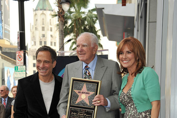 Marilyn Milian Judge Joseph A. Wapner Honored On The Hollywood Walk Of Fame