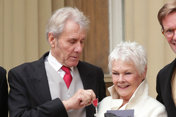 Judi Dench Investitures At Buckingham Palace