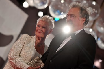 Judi Dench Stephen Frears Victoria & Abdul and Jaeger-LeCoultre Glory to the Filmaker Award 2017 Red Carpet - 74th Venice Film Festival