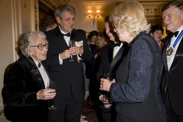Judith Kerr The Duchess Of Cornwall Attends The National Literacy Trust 25th Anniversary Reception