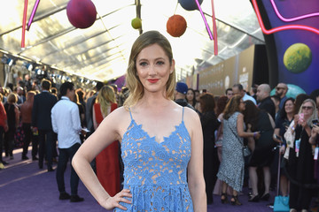 """Judy Greer Premiere Of Disney And Marvel's """"Guardians Of The Galaxy Vol. 2"""" - Red Carpet"""