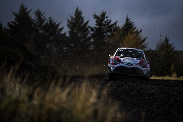 Juho Hanninen FIA World Rally Championship Great Britain - Day One