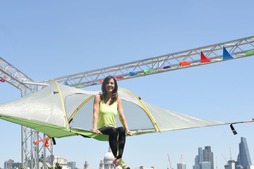 Julia Bradbury Julia Bradbury Kick-Starts National Camping and Caravanning Week on London's South Bank
