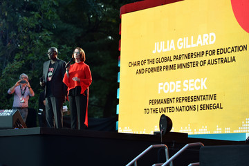 Julia Gillard 2017 Global Citizen Festival in Central Park to End Extreme Poverty by 2030 - Show