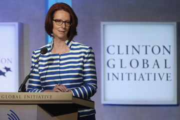 Julia Gillard Clinton Global Initiative