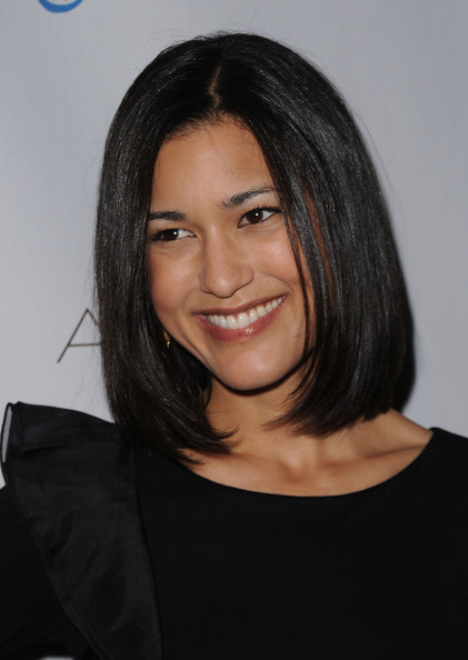 Julia Jones At Burberry Body Launch In Beverly Hills: ARCADE Boutiques Autumn Party
