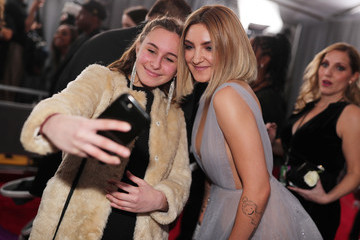 Julia Michaels 60th Annual GRAMMY Awards - Red Carpet