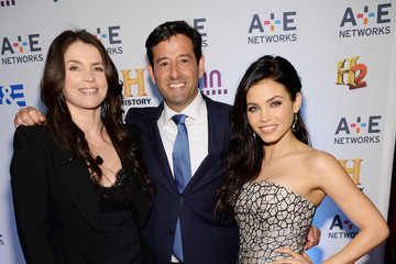 Julia Ormond Arrivals at A+E Networks Upfront