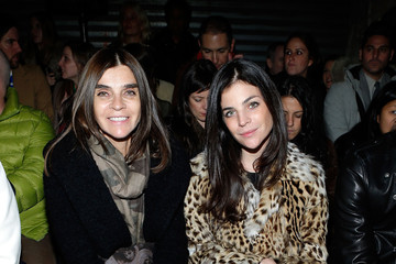 Julia Restoin-Roitfeld Proenza Schouler - Front Row - Fall 2013 Mercedes-Benz Fashion Week