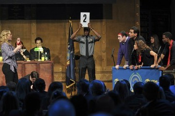 Julia Stiles Labyrinth Theater Company's Celebrity Charades 2014: Judgement Day