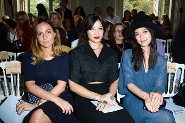 Julia Toledano John Galliano  : Front Row - Paris Fashion Week Womenswear  Spring/Summer 2014