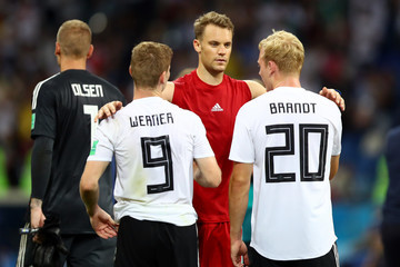 3bb3a475726 Julian Brandt Timo Werner Germany vs. Sweden  Group F - 2018 FIFA World Cup
