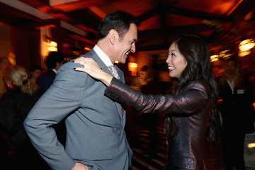 Julian McMahon 2018 Hulu Holiday Party