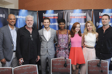Julian Morris Alona Tal SiriusXM's Entertainment Weekly Radio Channel Broadcasts From Comic-Con 2015