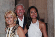 (L-R) Nicoletta Fiorucci, Giovanni Russo and Rula Jebreal arrive at the Julian Schnabel Opening Exhibition on May 31, 2011 in Venice, Italy.