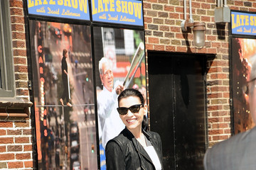 "Julianna Margulies Celebrities Visit ""Late Show With David Letterman"" - May 14, 2015"