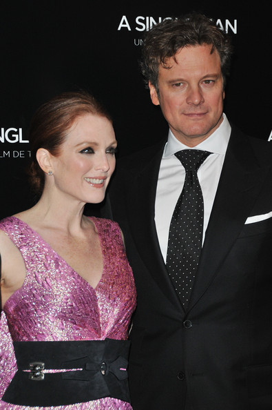 Colin Firth and Julianne Moore -