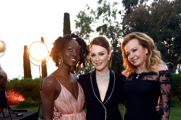 Julianne Moore Caroline Scheufele Chopard Secret Night - Cocktail - The 71st Annual Cannes Film Festival