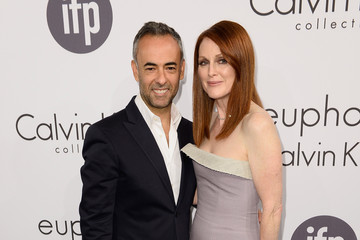 Julianne Moore Francisco Costa Calvin Klein Party at Cannes