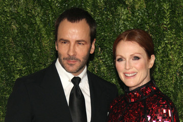 Julianne Moore Tom Ford Arrivals at the Fashion Fund Finalists Celebration