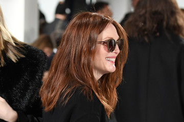 Julianne Moore Calvin Klein Collection - Front Row - February 2017 - New York Fashion Week