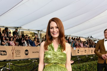 Julianne Moore In Focus:  22nd Annual Screen Actors Guild Awards - Stars Sparkle on the Red Carpet