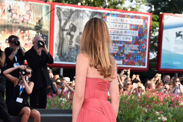 Julie Gayet Opening Ceremony at the 71st Venice Film Festival