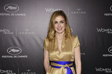Julie Gayet Kering and Cannes Festival Official Dinner : Photocall at the 69th Cannes Film Festival