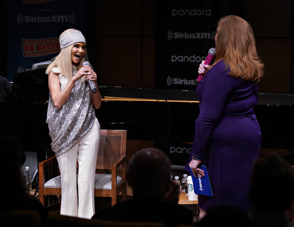 Kristin Chenoweth Performs Live At Steinway Hall In New York City [on broadway channel,performance,entertainment,event,talent show,performing arts,stage,fashion,public event,music,singing,kristin chenoweth performs live on siriusxm,julie james,kristin chenoweth,channel,steinway hall,new york city,siriusxm]