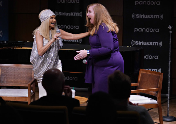 Kristin Chenoweth Performs Live At Steinway Hall In New York City [on broadway channel,performance,event,talent show,conversation,performing arts,stage,heater,music,musician,kristin chenoweth performs live on siriusxm,julie james,kristin chenoweth,channel,steinway hall,new york city,siriusxm]