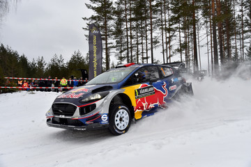 Julien Ingrassia FIA World Rally Championship Sweden - Day One