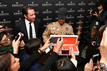 Julien Tornare Zenith Press Conference At Baselworld 2018